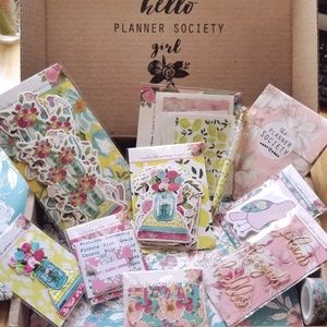 The Planner Society June 2018 Kit